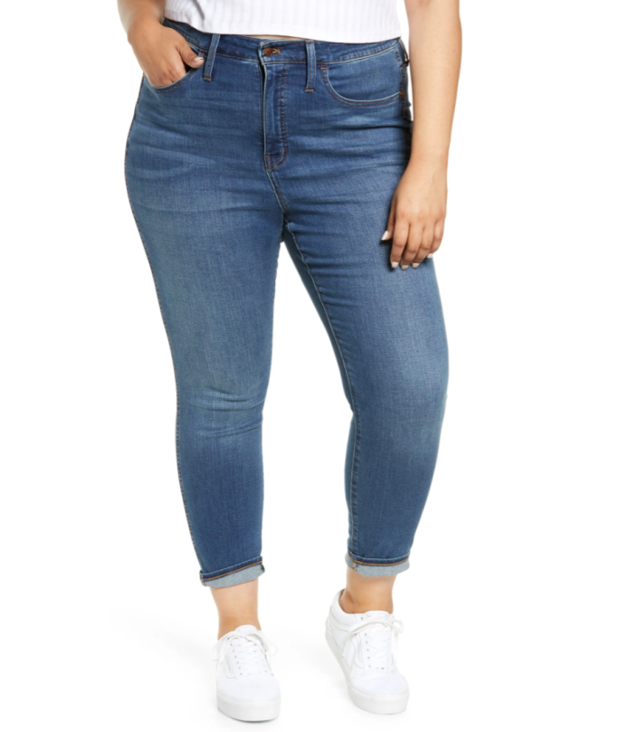 Madewell High-Rise Roadtripper Supersoft Jeans (Photo via Nordstrom)