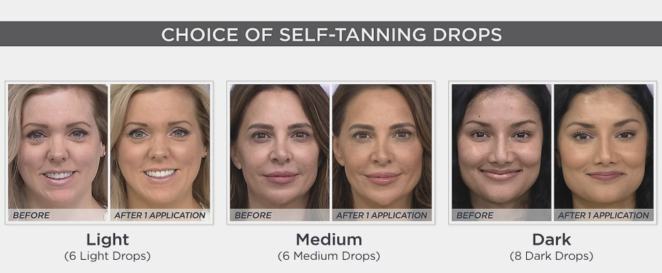 An even, radiant skin tone is just a few drops away. (Photo: QVC)