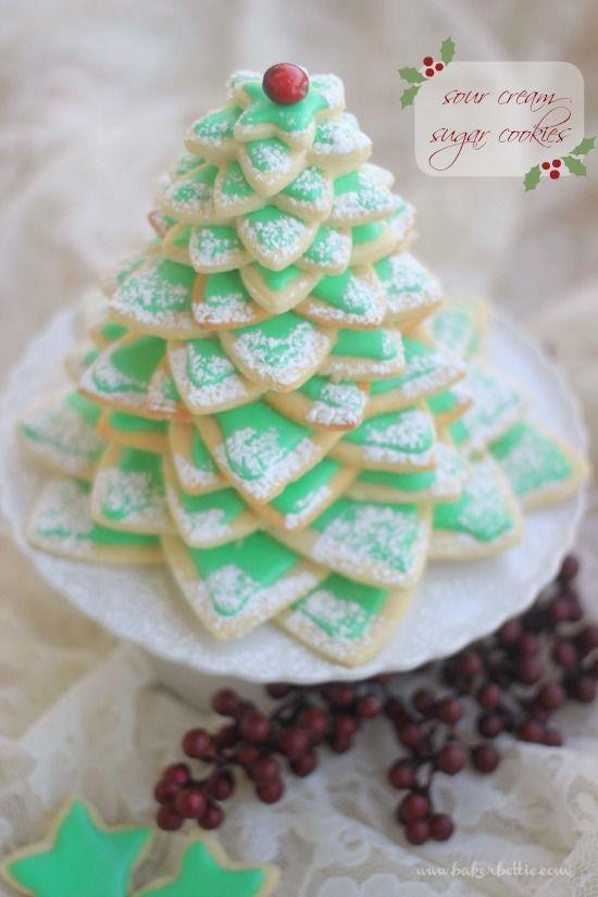 "<p>We've found it: The absolute cutest edible centerpiece for your Christmas dinner table. </p><p><strong>Get the recipe at <a href=""http://bakerbettie.com/sour-cream-sugar-cookies/"" rel=""nofollow noopener"" target=""_blank"" data-ylk=""slk:Baker Bettie"" class=""link rapid-noclick-resp"">Baker Bettie</a>.</strong></p>"