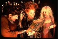 <p>Three sisters, witches executed in the 17th century, are accidentally summoned back by a young boy in modern Salem.</p>