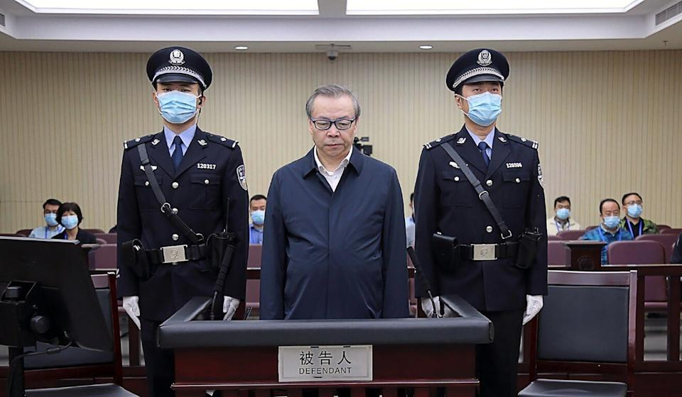 Lai Xiaomin, the former chairman of China Huarong Asset Management, was sentenced to death after being found guilty of corruption involving US$277 million. Photo: Weibo