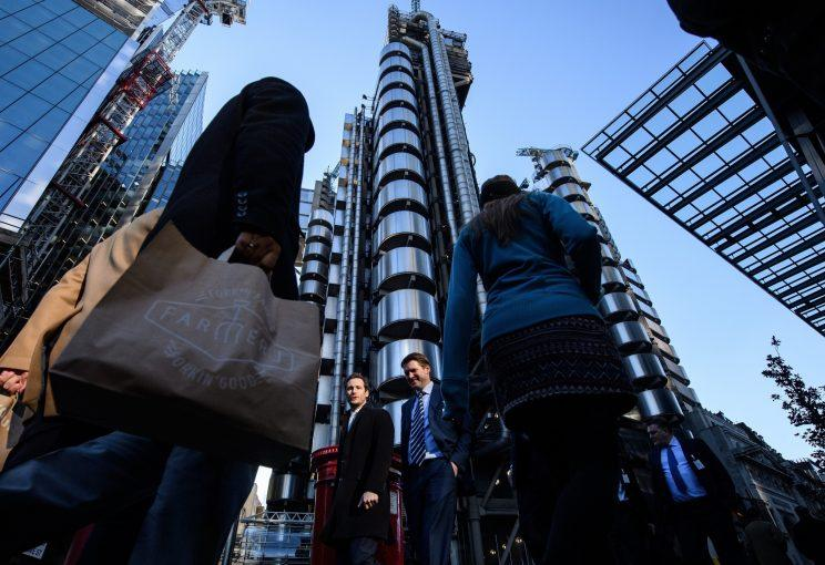 The Square Mile in the heart of London's financial district has become a key Brexit battleground (Leon Neal/Getty Images)