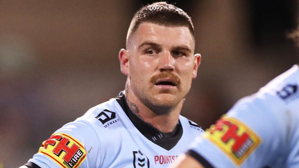 Josh Dugan has retired from the NRL after 215 games, electing not to extend his career after he was sacked by the Cronulla Sharks. (Photo by Mark Kolbe/Getty Images)