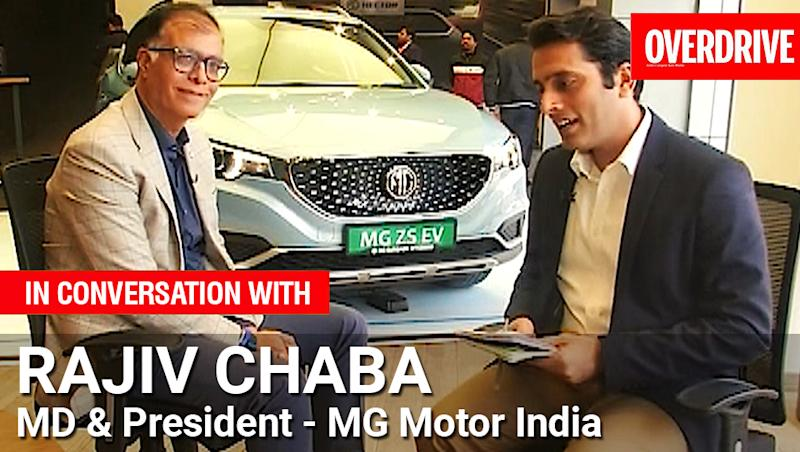 Interview: MG Motor India head Rajiv Chaba on MG ZS EV charging infrastructure, future battery plant and Budget expectations