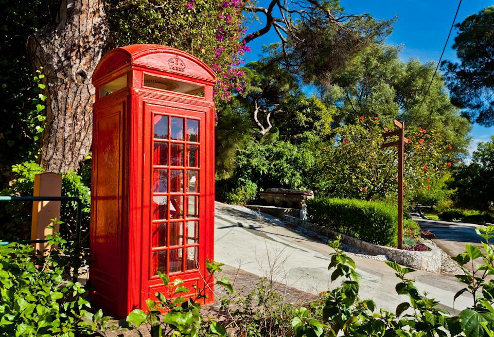 Look out for red phone boxes and M&S - GETTY