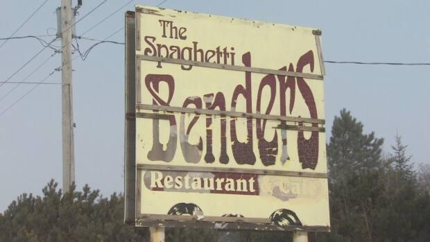 Four Cape Breton women are charged with federal tax fraud involving 10 companies, including the former Spaghetti Benders restaurant in Boularderie, N.S. (Gary Mansfield/CBC - image credit)