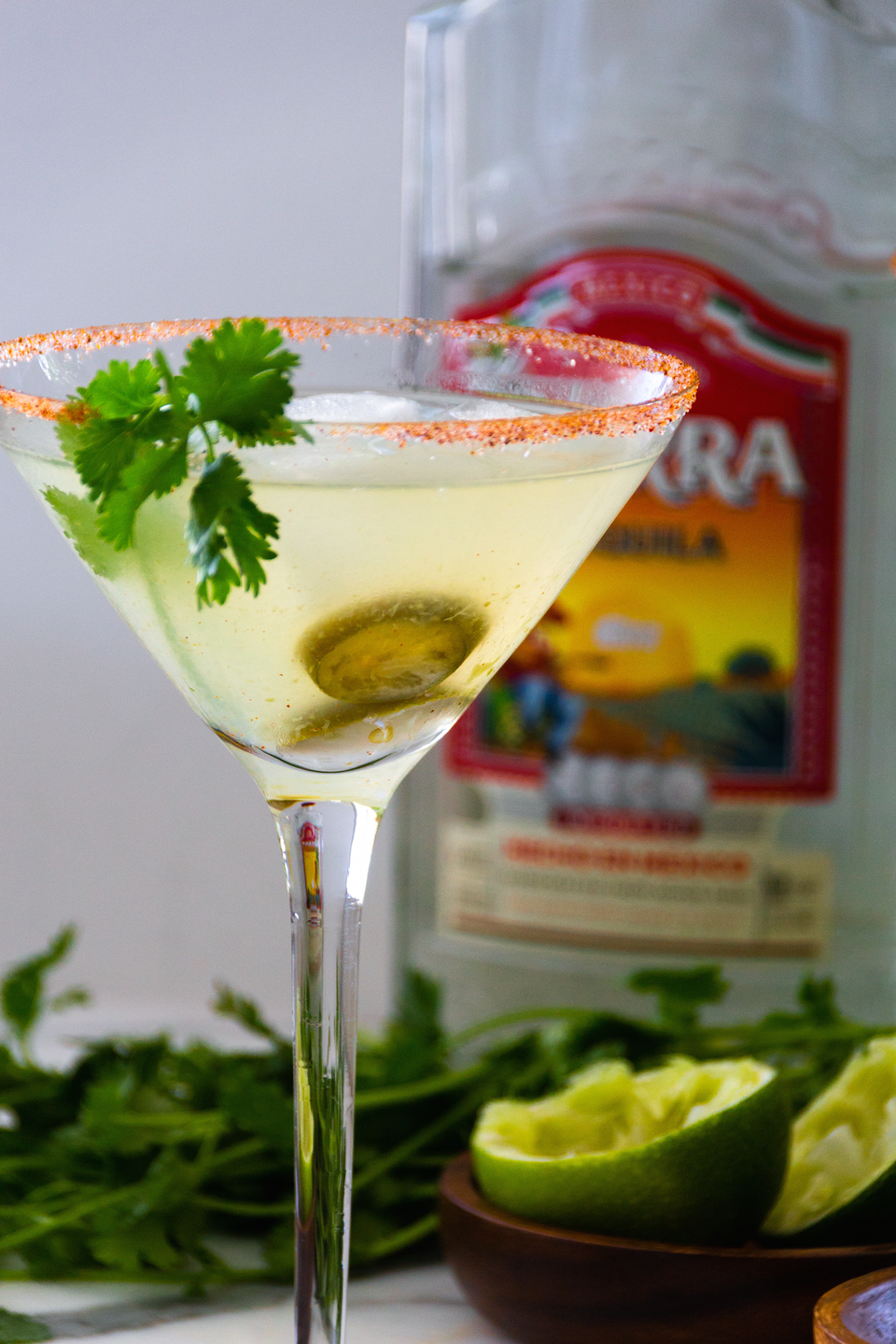 """<p>Margaritas are notorious for having tons of calories, but they taste so damn good they're hard to resist — especially with a side of guac. The good news is, you can enjoy this classic margarita from <a href=""""https://www.appetiteforenergy.com/low-carb-spicy-margarita-keto-sugar-free/"""" rel=""""nofollow noopener"""" target=""""_blank"""" data-ylk=""""slk:Appetite for Energy"""" class=""""link rapid-noclick-resp"""">Appetite for Energy</a> without wrecking your diet. This recipe uses liquid stevia to cut back on the carbs and throws in jalapeño for a spicy kick.</p>"""