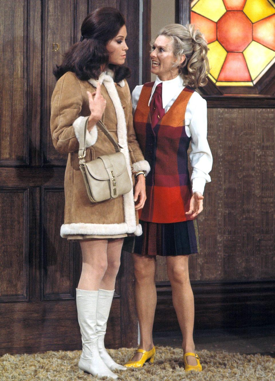 <p>The actress' big break came in 1970 with <em>The Mary Tyler Moore Show, </em>on which she played Phyllis Lindstrom. She won two Emmys for the part and later scored a spinoff series, <em>Phyllis. </em>For that series, she won a Golden Globe. </p>