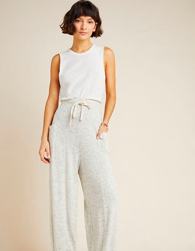 "$78, Anthropologie. <a href=""https://www.anthropologie.com/shop/laura-lounge-pants"">Get it now!</a>"