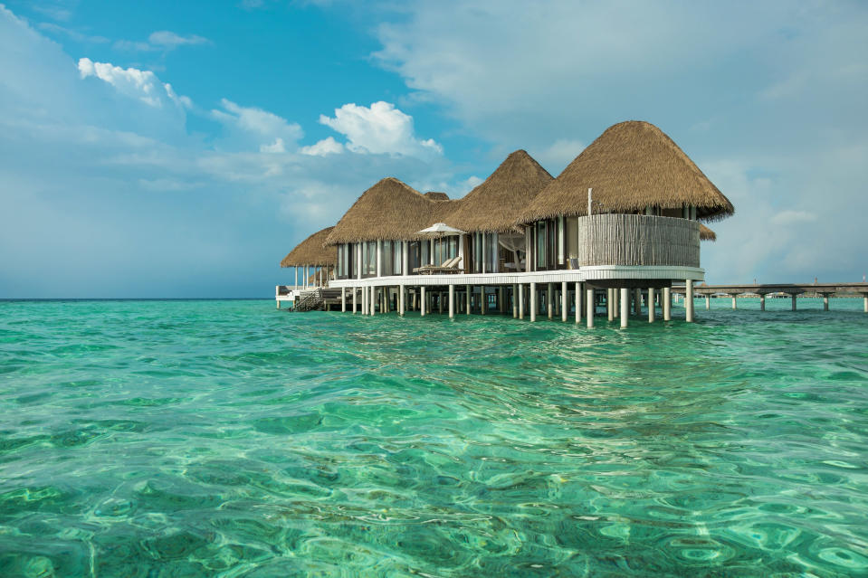 COMO Hotels villas in the Maldives, work of paradise