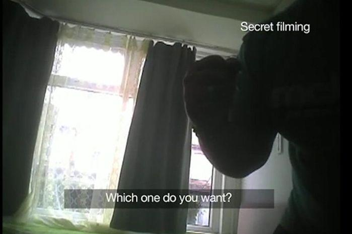 Kanta can be heard threatening the undercover autism patient. Photo: BBC