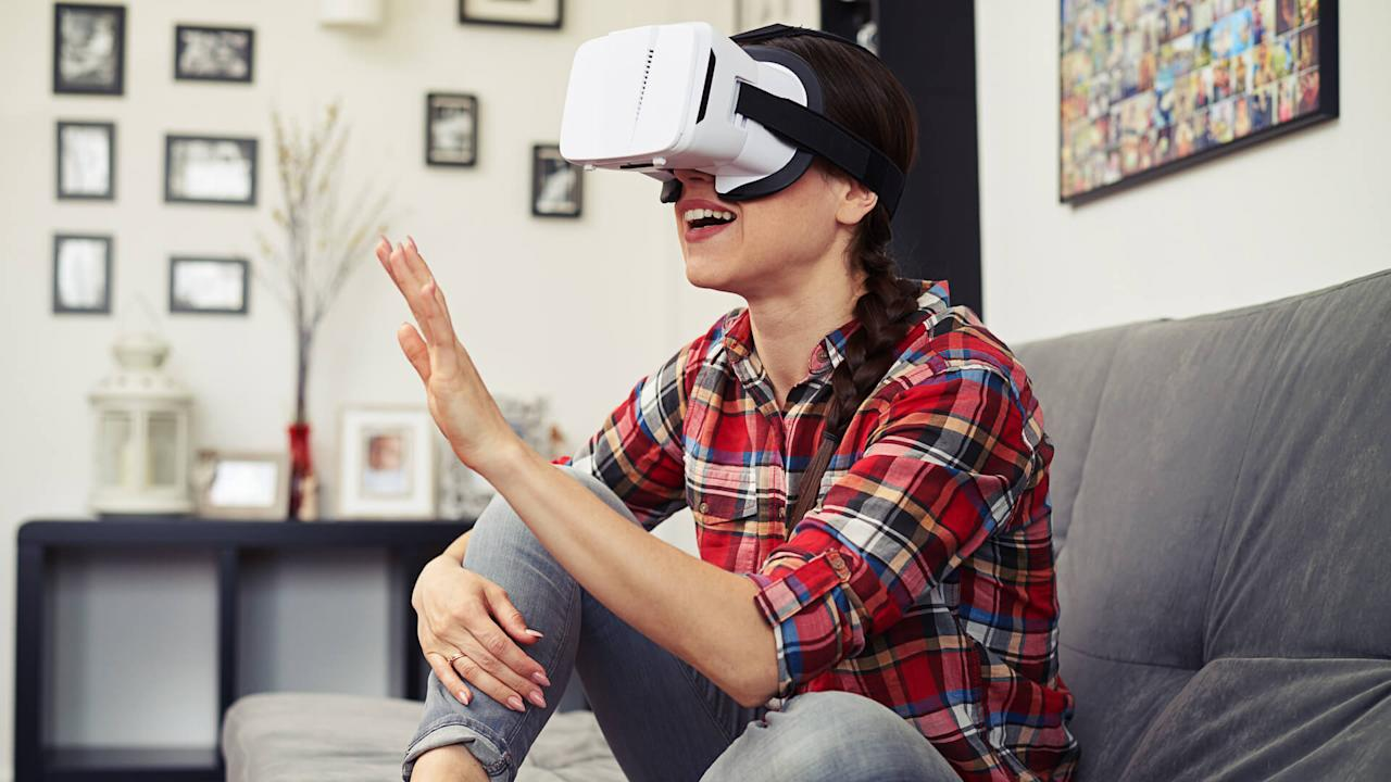 "<p>The virtual reality industry is expected to continue rapid growth and could become a $40 billion market by 2020, according to Reuters.</p> <p>Your investment options to take advantage of growing VR applications consist of more than just <a href=""https://www.gobankingrates.com/saving-money/entertainment/most-popular-video-games/"">popular video game companies</a>. In addition to standalone applications, the development of VR technology will also be important in other industries that will incorporate VR, such as education and customer support. And the industry is expected to grow as higher wireless internet speeds become more widely available, including 5G.</p> <p><em><strong>Look At: <a href=""https://www.gobankingrates.com/making-money/business/businesses-changing-the-world/"">50 Businesses That Are Changing the World Today</a></strong></em></p>"