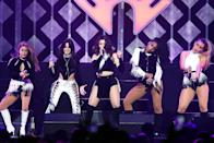 """<p>The song has sold 1,425,000 copies since its release in February. This is the second year in a row that Fifth Harmony, who just parted ways with original member Camila Cabello, has had a hit in the year's top 30. """"Worth It"""" (featuring Kid Ink) ranked No. 26 for 2015. Both of these songs were the year's biggest hits by all-female groups. (Photo by Tasos Katopodis/Getty Images for iHeart) </p>"""
