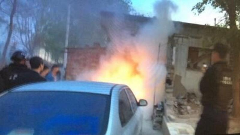 Chinese father and son jailed for throwing petrol bombs at government workers who tried to demolish their home