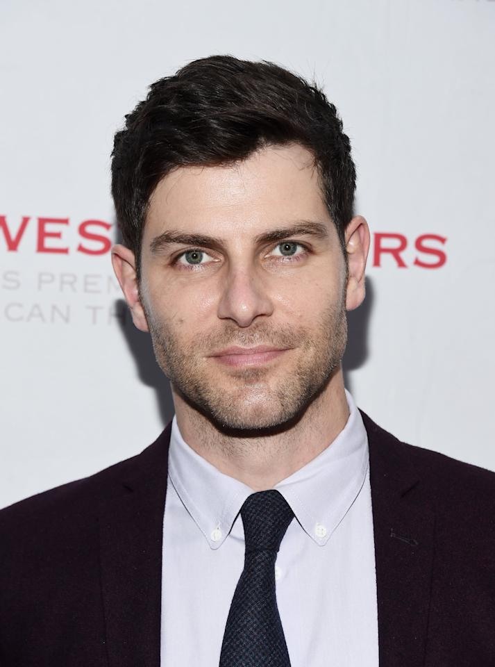 <p>Best known for playing Detective Nick Burkhardt in NBC's <strong>Grimm</strong>, David Giuntoli stars in the show as Eddie Saville, a former front man of a local band turned music teacher and stay-at-home dad who, though he loves being a dad, wonders what life would be like if he hadn't become a family man. </p>
