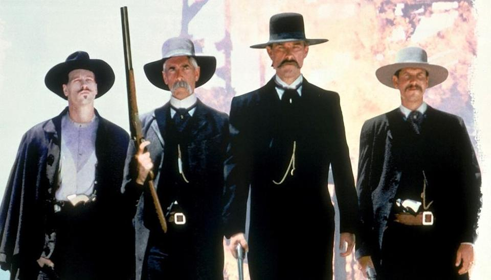 <p>As a huge fan of westerns and a friend and frequent collaborator of leading man Kurt Russell, Carpenter would have been a logical choice for this Wyatt Earp movie, but it wasn't to be. George P Cosmatos ('Rambo: First Blood Part II,' 'Cobra') directed instead. (Picture credit: Buena Vista) </p>