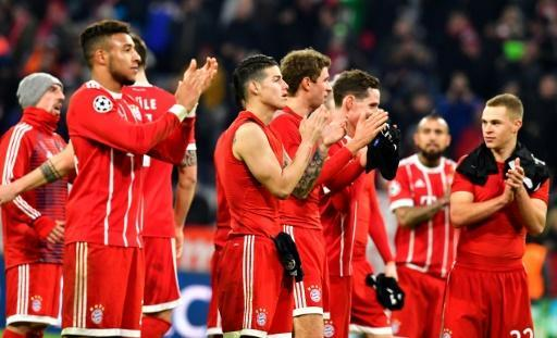 <p>Manchester United secure Champions League passage as Bayern down PSG</p>
