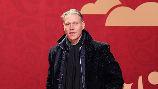 Netherlands and Ajax great Marco van Basten has apologised after he used a term synonymous with the Nazi party live on television.