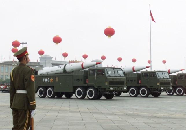 Dongfeng missiles