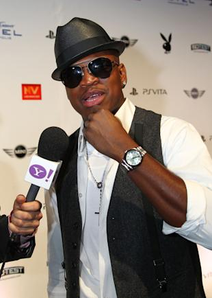 Ne-Yo arrives at the Playboy Party