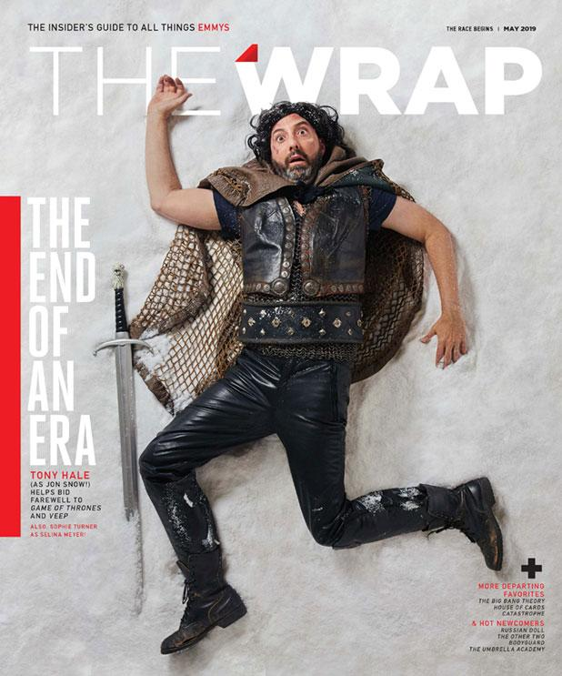 Tony Hale, 'Veep', EmmyWrap cover