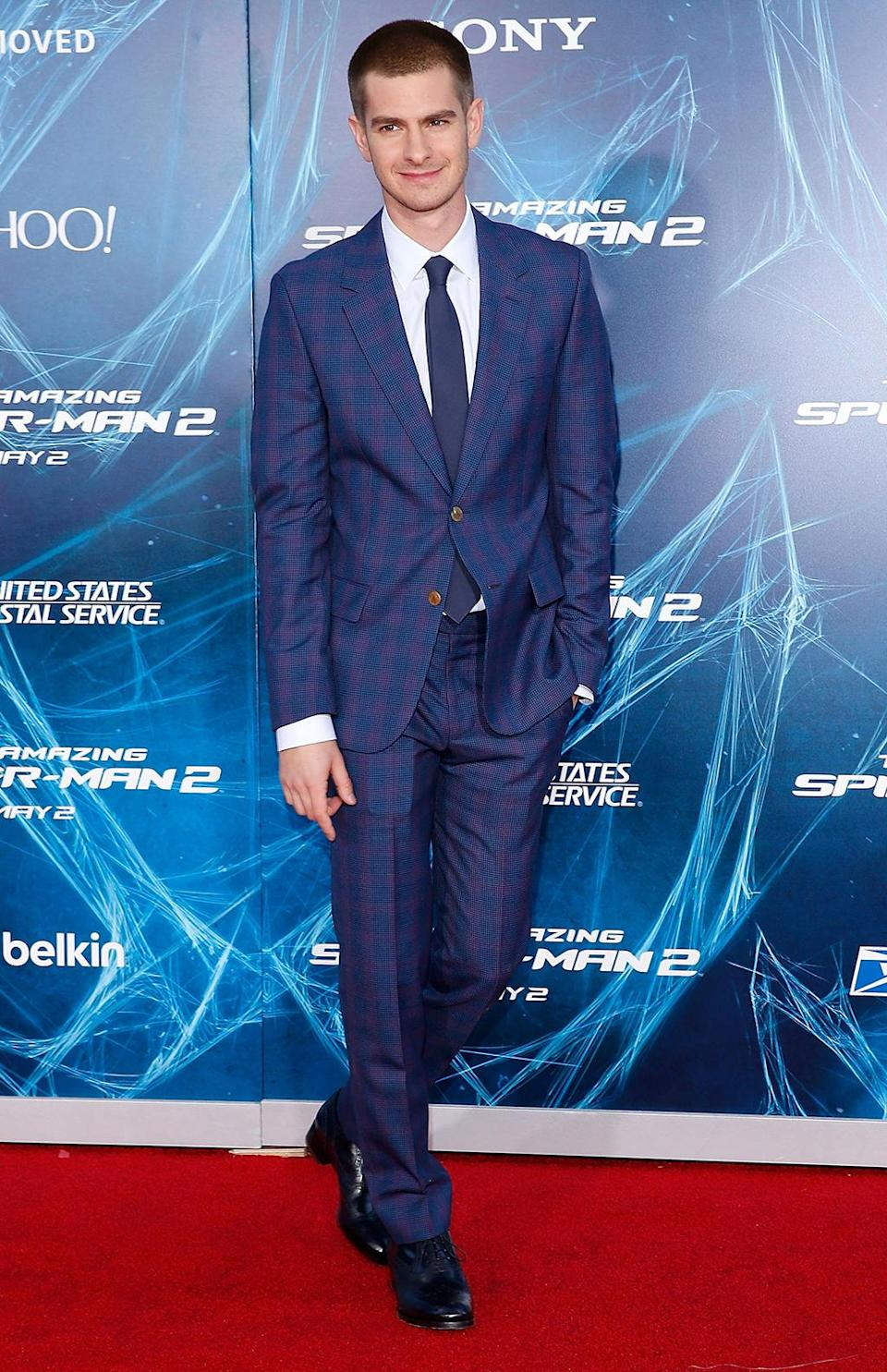 <p>Andrew Garfield reprised his role in the sequel, which was simply titled <em>The Amazing Spider-Man 2</em>. (Photo: Jemal Countess/Getty Images) </p>
