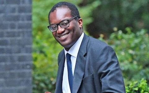 Business, energy and clean growth minister Kwasi Kwarteng said he could not endorse children leaving school to take part - Credit: Victoria Jones/PA