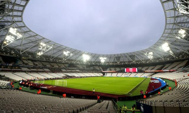 The London Stadium was due to host the Anniversary Games in July, (Bradley Collyer/PA)