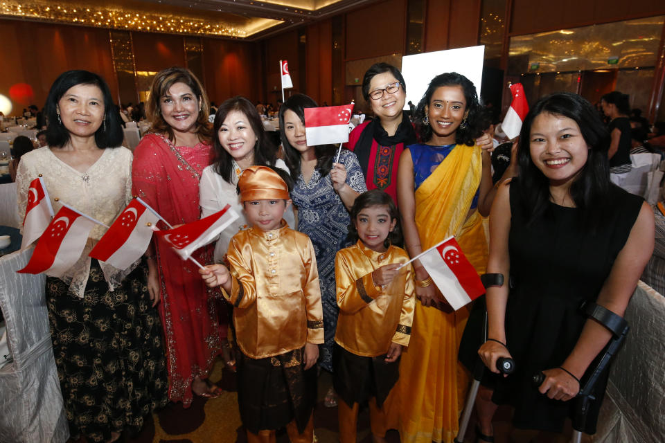 Inter Racial Inter Religious Harmony Nite 2017. (PHOTO: Ministry of Culture, Community and Youth)