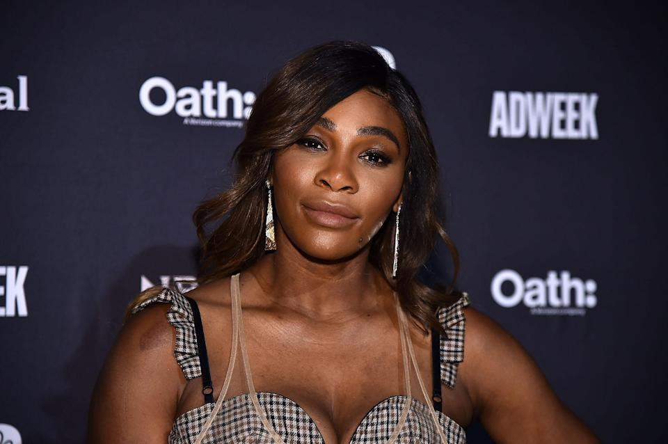 Serena Williams at Cipriani 25 Broadway on Nov. 7, 2018, in New York City. (Getty Images)