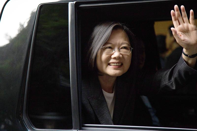 China Must Try to Co-exist With Democratic Taiwan, Tsai Says