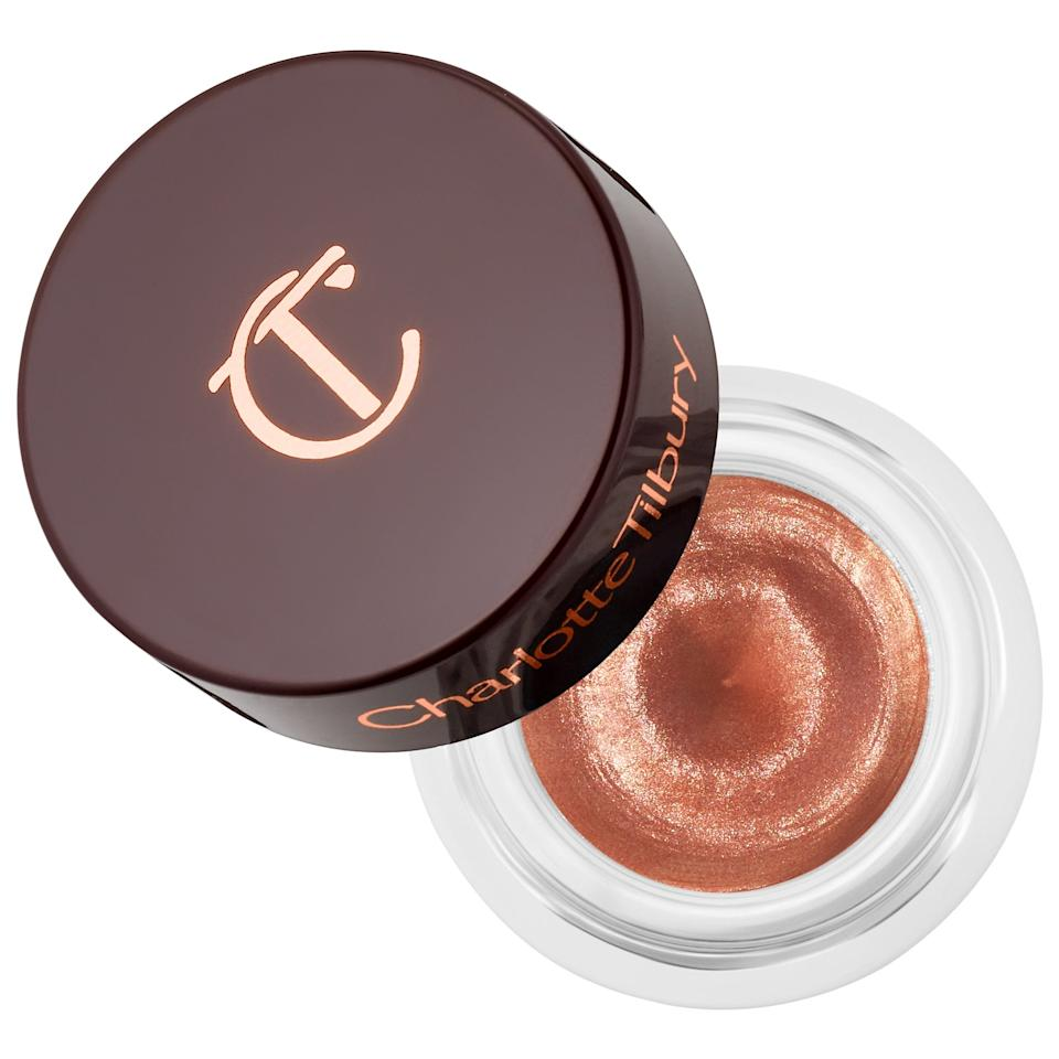 "<p>Tubs of creamy eye shadows like this <a href=""https://www.popsugar.com/buy/Charlotte-Tilbury-Eyes-Mesmerize-Cream-Eyeshadow-552972?p_name=Charlotte%20Tilbury%20Eyes%20To%20Mesmerize%20Cream%20Eyeshadow&retailer=sephora.com&pid=552972&price=32&evar1=bella%3Auk&evar9=47268327&evar98=https%3A%2F%2Fwww.popsugar.com%2Fbeauty%2Fphoto-gallery%2F47268327%2Fimage%2F47268329%2FCharlotte-Tilbury-Eyes-To-Mesmerize-Cream-Eyeshadow&list1=eye%20shadow%2Csephora%2Ctravel%20tips%2Cbeauty%20shopping&prop13=api&pdata=1"" rel=""nofollow"" data-shoppable-link=""1"" target=""_blank"" class=""ga-track"" data-ga-category=""Related"" data-ga-label=""https://www.sephora.com/product/eyes-to-mesmerize-cream-eyeshadow-P434101?icid2=products%20grid:p434101"" data-ga-action=""In-Line Links"">Charlotte Tilbury Eyes To Mesmerize Cream Eyeshadow</a> ($32) mean you don't have to worry about a powder palette cracking if squeezed in a makeup bag or getting everywhere if the top isn't fully on. It's also so easy to apply: Just dab some on a finger and sweep back and forth like windshield wipers to coat your entire lids with color, no brush - or mirror - necessary.</p>"