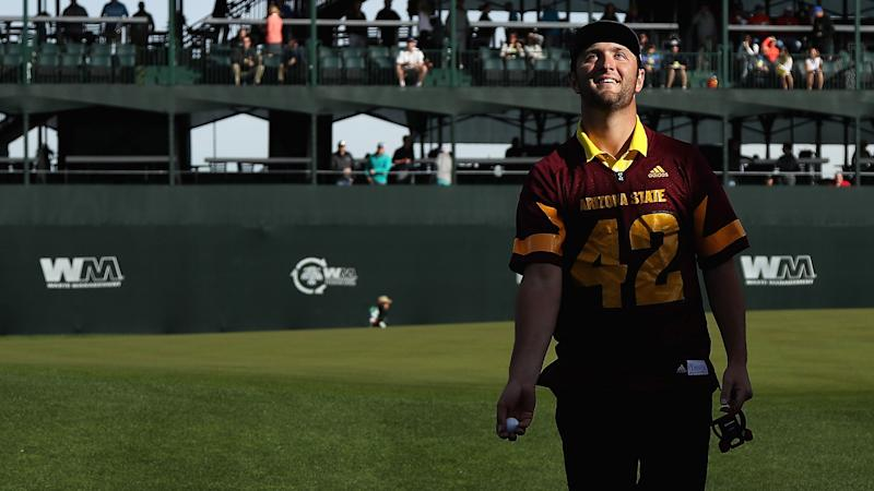 Jon Rahm left bemused after unfortunate stroke of luck
