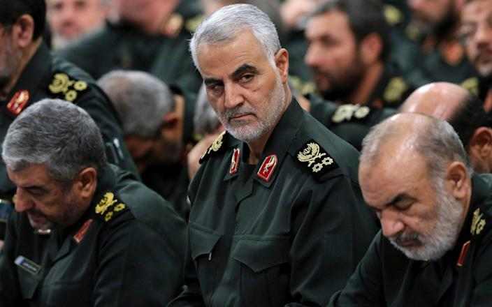 Qassem Soleimani, the head of Iran's elite Quds Force, has been killed in an airstrike at Baghdad's international airport. - Office of the Iranian Supreme Leader