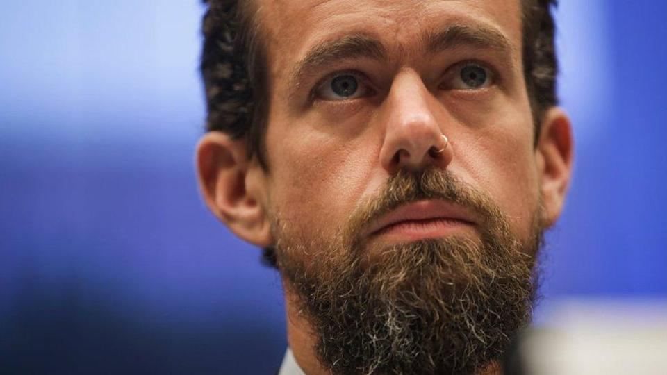 Twitter's chief executive Jack Dorsey