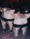 """<p>These inflatable sumo wrestlers are ready to rumble.</p><p><a class=""""link rapid-noclick-resp"""" href=""""https://www.amazon.com/TOLOCO-Inflatable-Costume-Christmas-Costumes/dp/B01HZLYQDI/?tag=syn-yahoo-20&ascsubtag=%5Bartid%7C10072.g.27868801%5Bsrc%7Cyahoo-us"""" rel=""""nofollow noopener"""" target=""""_blank"""" data-ylk=""""slk:SHOP COSTUMES"""">SHOP COSTUMES</a></p>"""