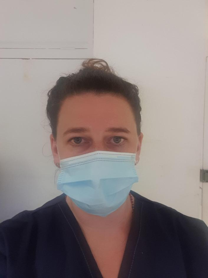 Laura Duffell, who is helping to organise the protest in London on Saturday, said NHS workers feel 'stabbed in the back' by the government. (Laura Duffell)