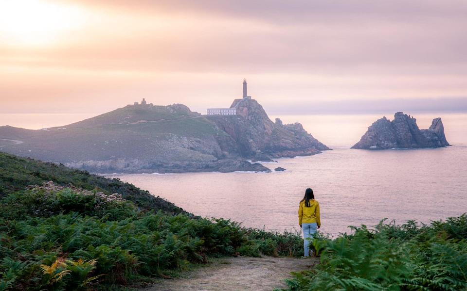 Cape Vilan Lighthouse in Galicia - Getty