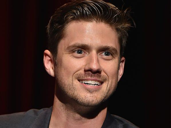 "Aaron Tveit recovered from COVID-19. <p class=""copyright"">The CW and Theo Wargo/Getty Images</p>"