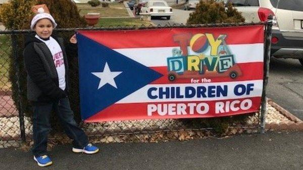 8-Year-Old Boy Collects Over 1,000 Toys For Kids In Puerto Rico