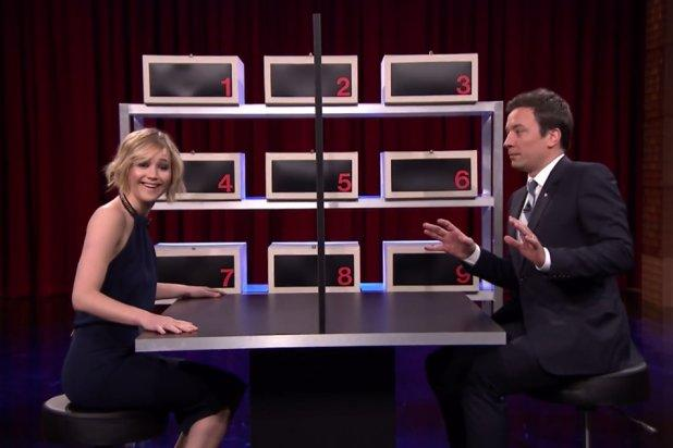 Jennifer Lawrence Is Mean to Jimmy Fallon During 'Box of ...