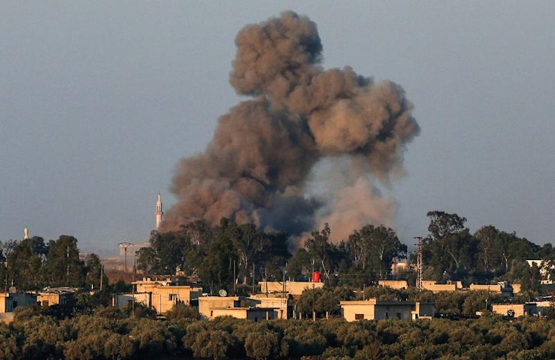 Syrian fighter jet shot down after infiltrating Israel's airspace, Israeli military says