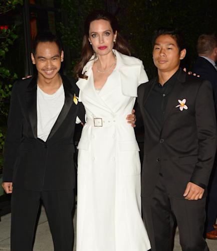 Picture of Angelina Jolie Kids