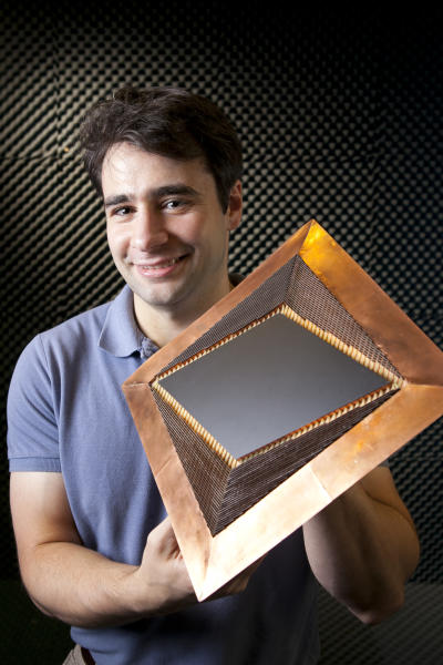 The 'invisibility cloak' could be used to hide objects by diverting light around them (Image: Duke University)