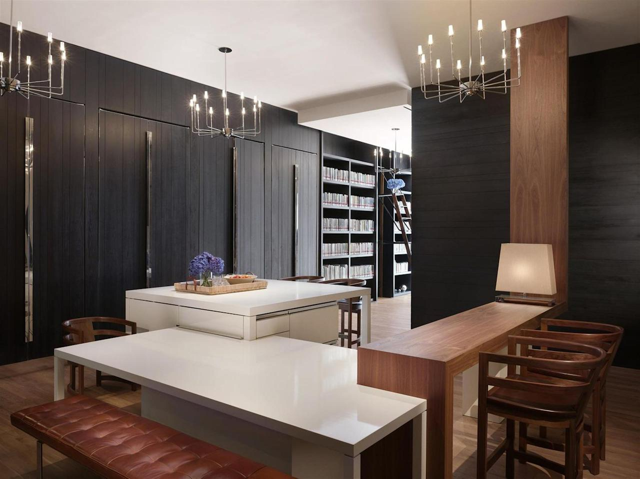 """<p>This classic, Hyatt-brand hotel offers stylish lofted rooms and cozy wrap-around decks with outstanding views of Bryant Park and Grand Central, all within walking distance of some of the city's most popular attractions, like the lion-bedecked public library.<br><a rel=""""nofollow"""" href=""""https://newyork5thavenue.andaz.hyatt.com/en/hotel/home.html"""">Book Now</a></p>"""