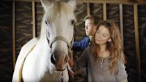 """<p><strong>Hulu's Description:</strong> """"When tween girl Sydney and a neighbor boy find a mysterious pony with an injured wing, they secretly heal the creature while racing to save Sydney's family ranch from developers.""""</p> <p><span>Stream <strong>Pegasus: Pony with a Broken Wing</strong> on Hulu!</span></p>"""