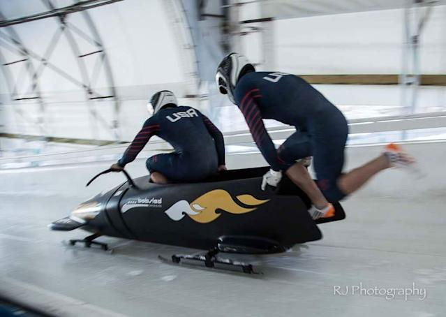 Nate Weber is trying to make the 2018 U.S. Olympic bobsled team. (Special to Yahoo Sports)