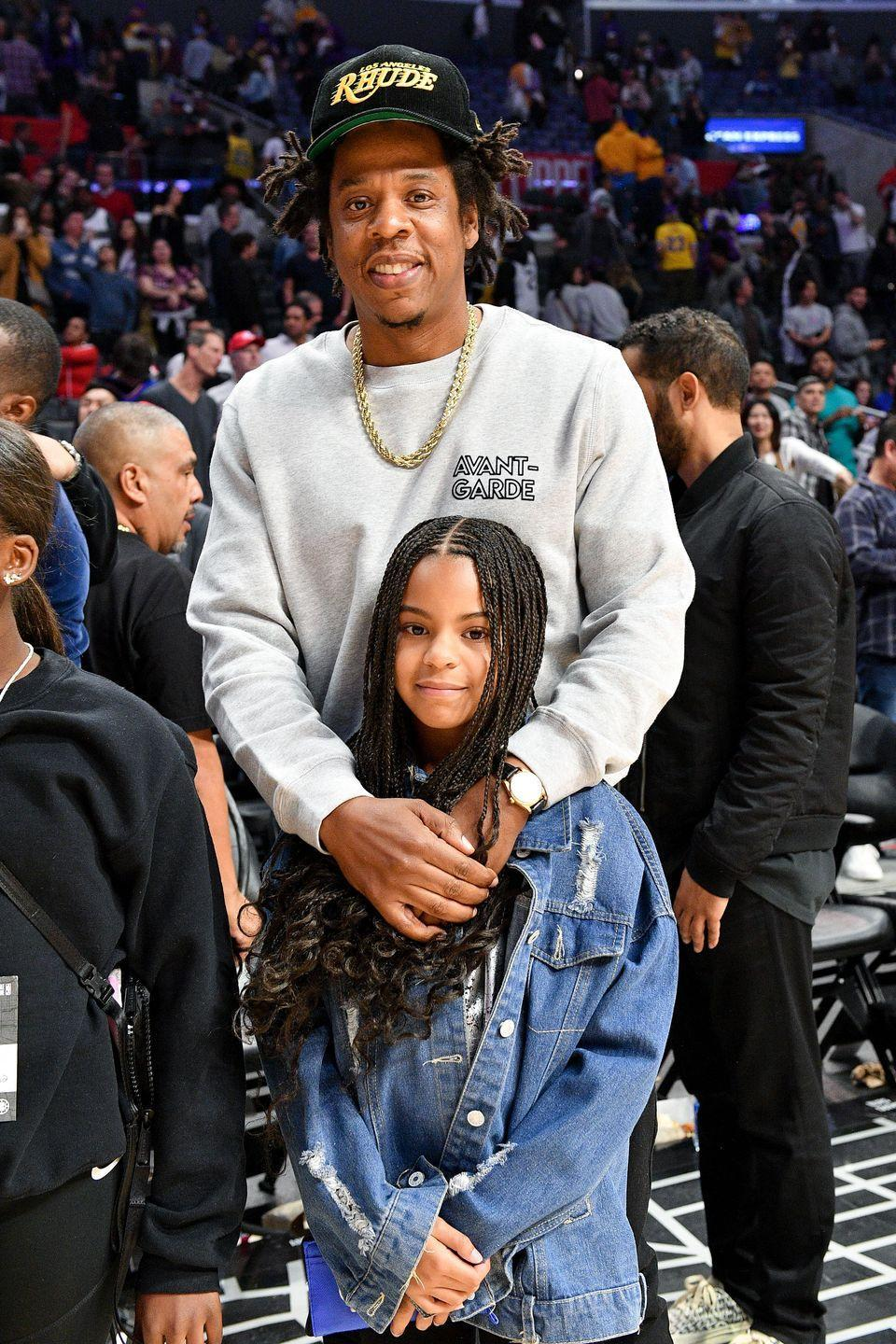 """<p><strong>Children</strong>: Blue Ivy Carter (8), Sir Carter (2), and Rumi Carter (2)</p><p><a href=""""https://www.oprahmag.com/entertainment/a27229698/beyonce-viral-fan-homecoming-coachella-sydney-hardeman/"""" rel=""""nofollow noopener"""" target=""""_blank"""" data-ylk=""""slk:Fans of Beyoncé"""" class=""""link rapid-noclick-resp"""">Fans of Beyoncé</a> already know all about her <a href=""""https://www.oprahmag.com/entertainment/a28400761/who-is-beyonce-husband-jay-z/"""" rel=""""nofollow noopener"""" target=""""_blank"""" data-ylk=""""slk:Grammy-award winning rapper and hip hop mogul husband"""" class=""""link rapid-noclick-resp"""">Grammy-award winning rapper and hip hop mogul husband</a> as well as their three kids: Blue Ivy, and twins Sir and Rumi. Although the power couple values their privacy, they occasionally make public appearances with their children, including this <a href=""""https://www.oprahmag.com/entertainment/a31400509/jay-z-blue-ivy-lebron-james-basketball-game-video/"""" rel=""""nofollow noopener"""" target=""""_blank"""" data-ylk=""""slk:father-daughter outing at a Lakers game"""" class=""""link rapid-noclick-resp"""">father-daughter outing at a Lakers game</a>. </p>"""