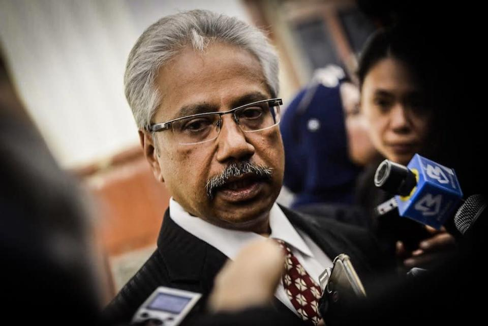 Minister in the Prime Minister's Department, P. Waytha Moorthy, said an apology was in order as it was an MP's responsibility to understand the sensitivities of the people within a multiracial country.  — Picture by Hari Anggara