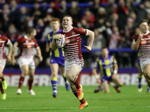 20-year-old Marshall scored four tries on his second appearance: REX